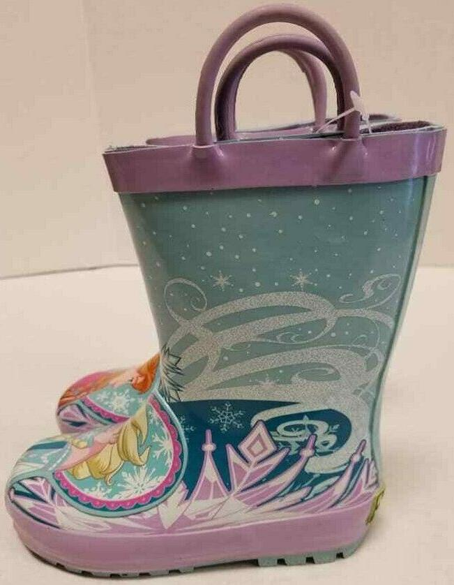 Kid Girls Western Chief Disney Frozen Toddler Size US Rain Boot NIB