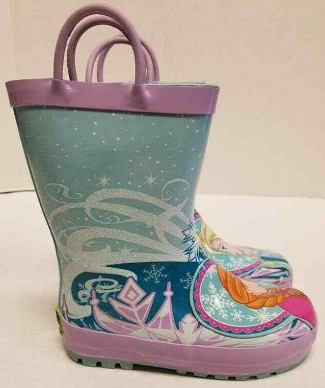 Kid Western Chief Disney Frozen Toddler Size US 9M Rain