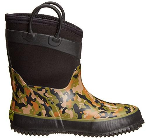 Western Rated Neoprene Boot, Camo Green, 10 M Toddler