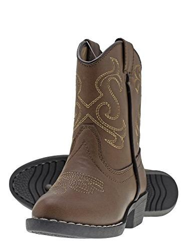 kids lil cowboy pointed toe classic western