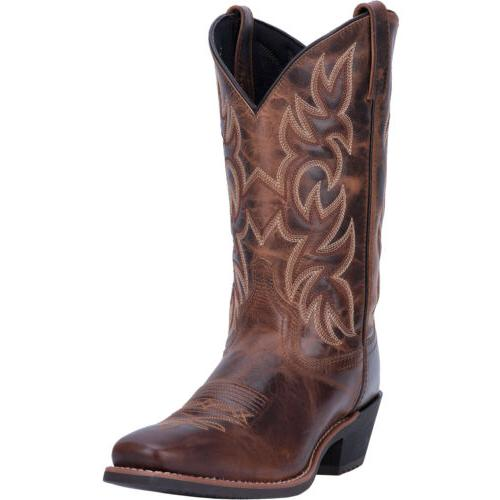 Laredo Mens Breakout Western Cowboy Boots Leather Narrow Squ