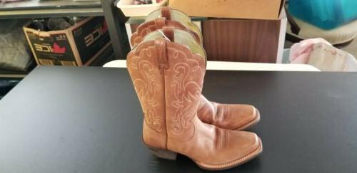 legend western brown boots womens size 7