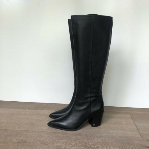 SAM EDELMAN Lindsey Women's Western Leather Boots Size 8.5M