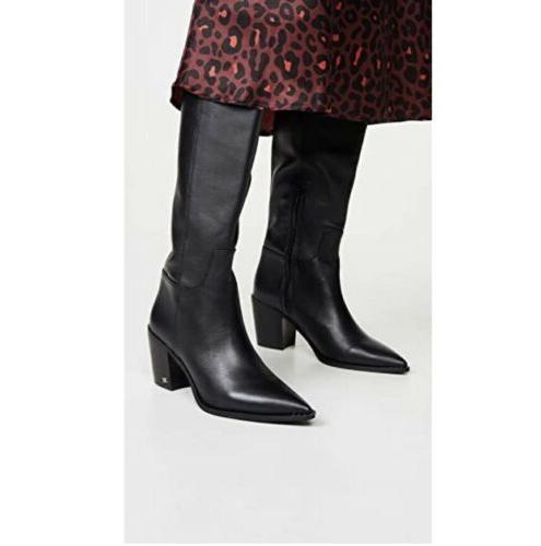 SAM Western Leather Boots Size