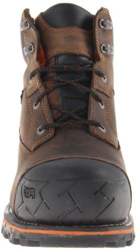 Timberland Men's 6 Inch Waterproof Non-Insulated Work Boot,Brown M