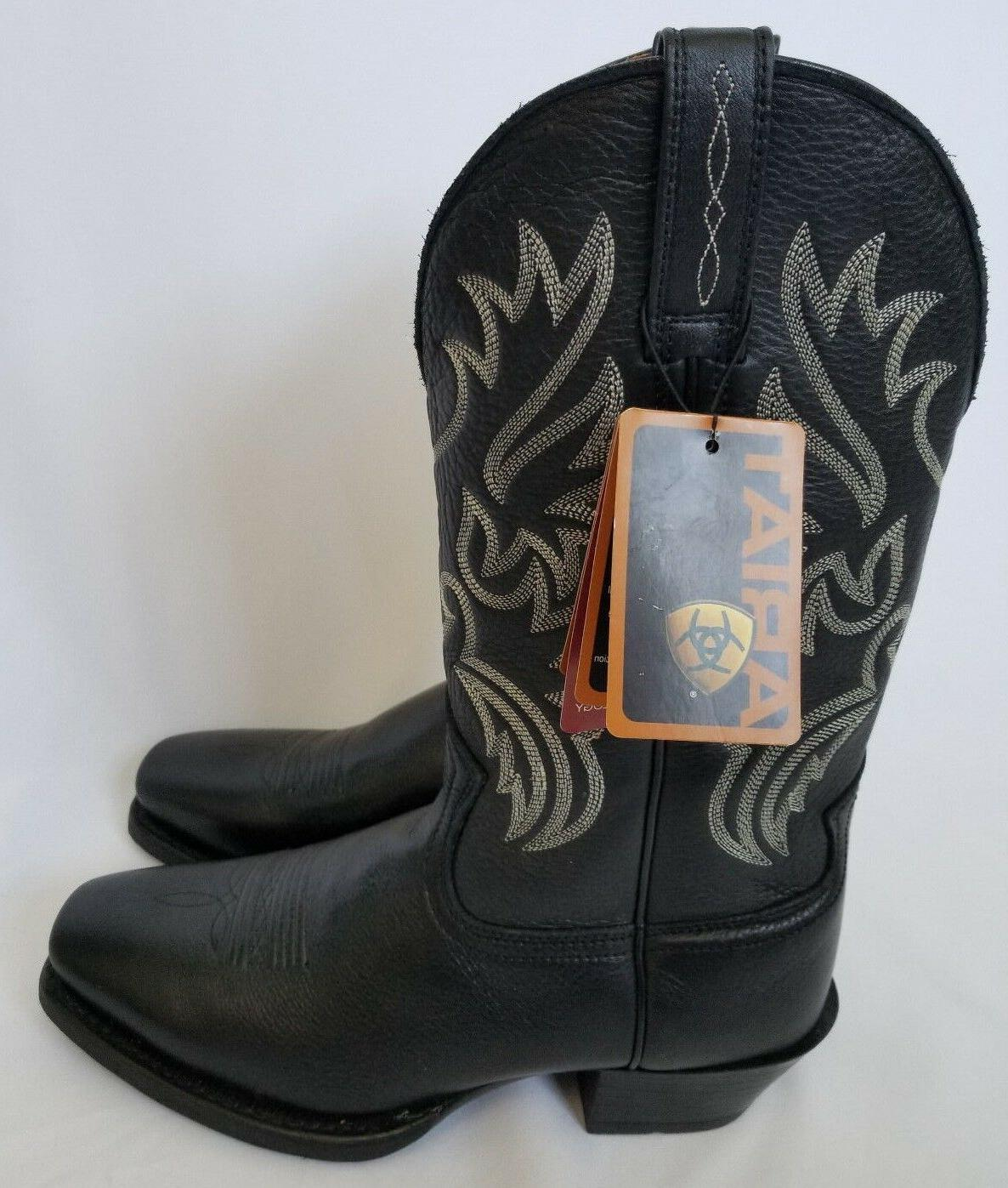 men s legend black sport western square