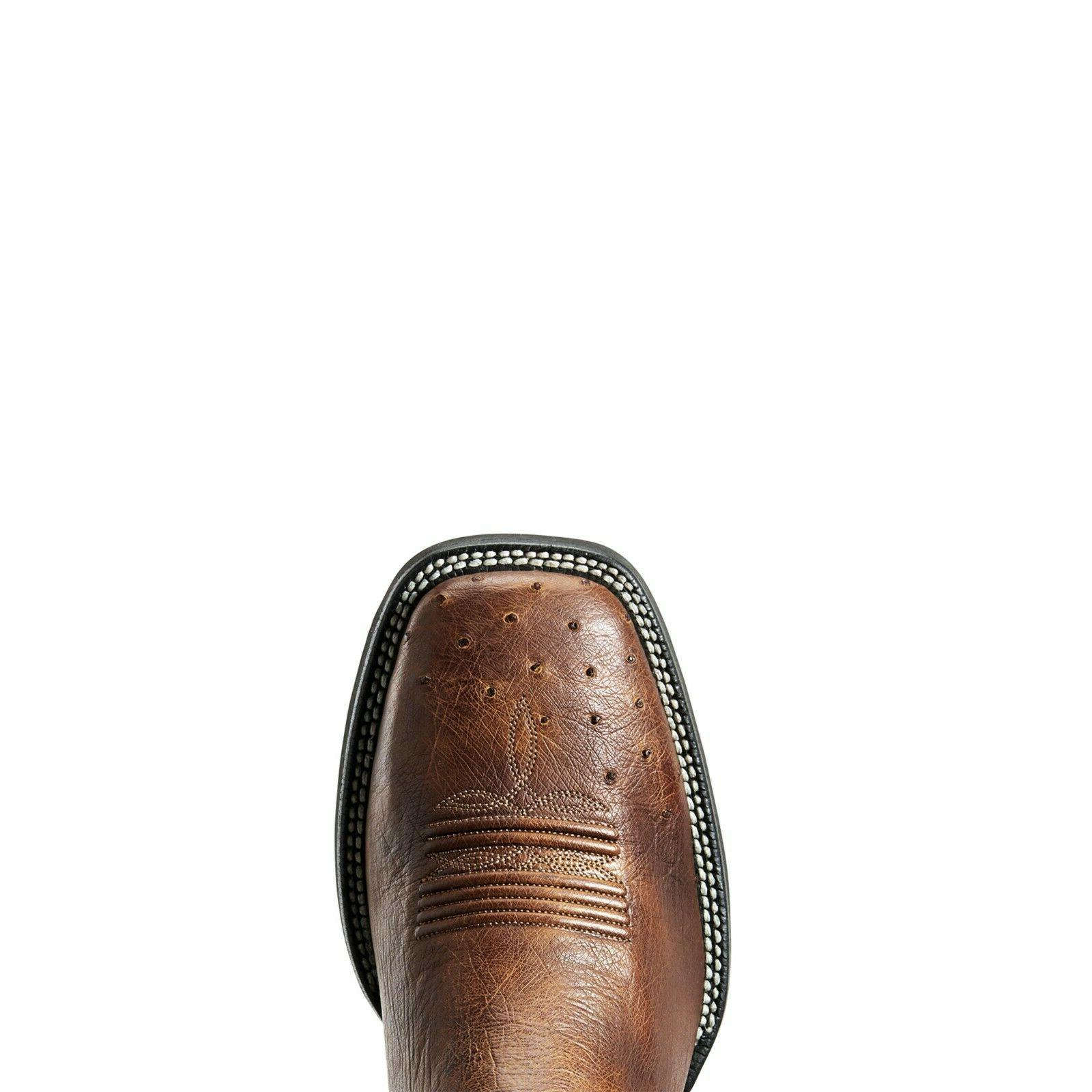 Ariat® Ostrich and Black Promoter 10029774