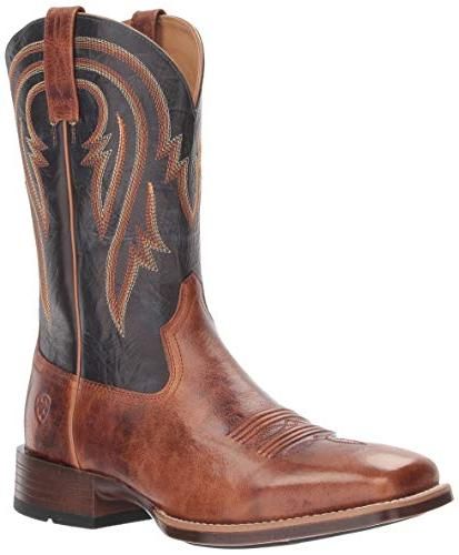 men s plano western boot gingersnap 7