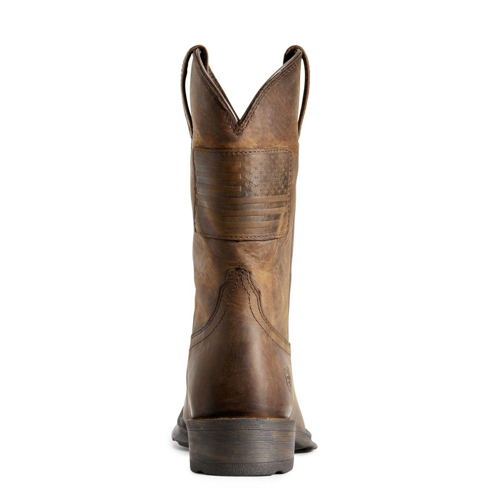 Ariat® Distressed Brown Flag Boots 10029692