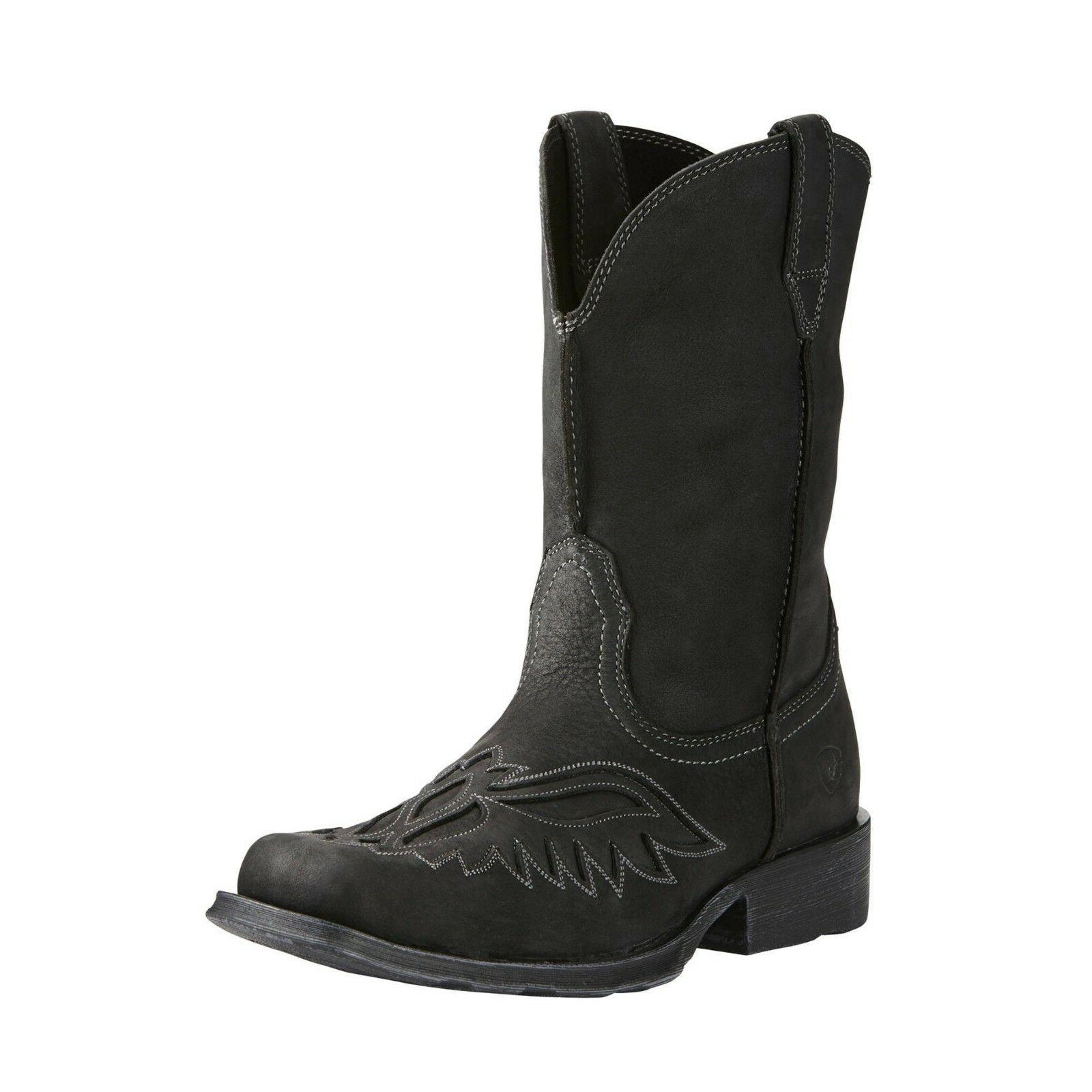 men s rambler renegade bast black boot