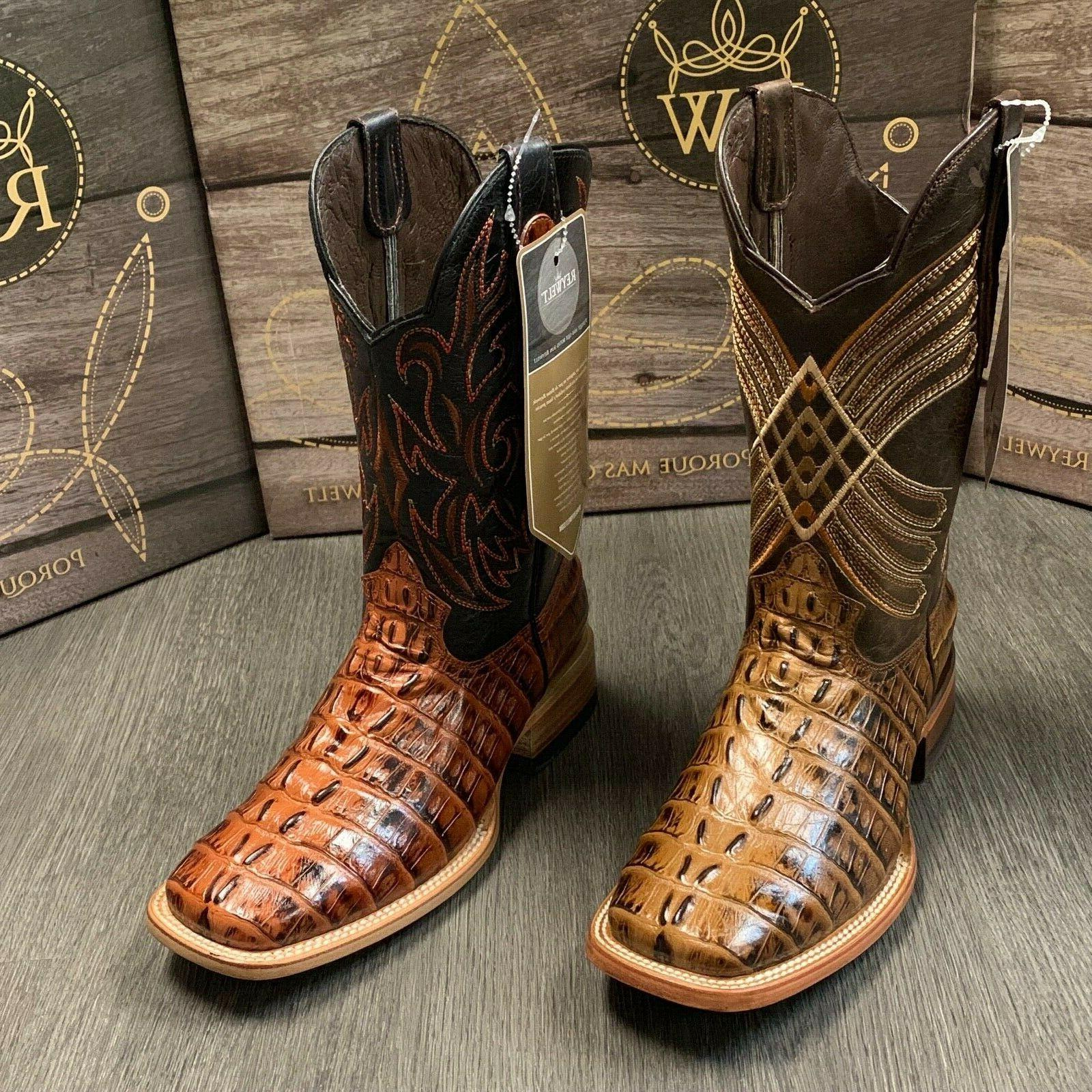 MEN'S TAIL WESTERN TOE BOOTS