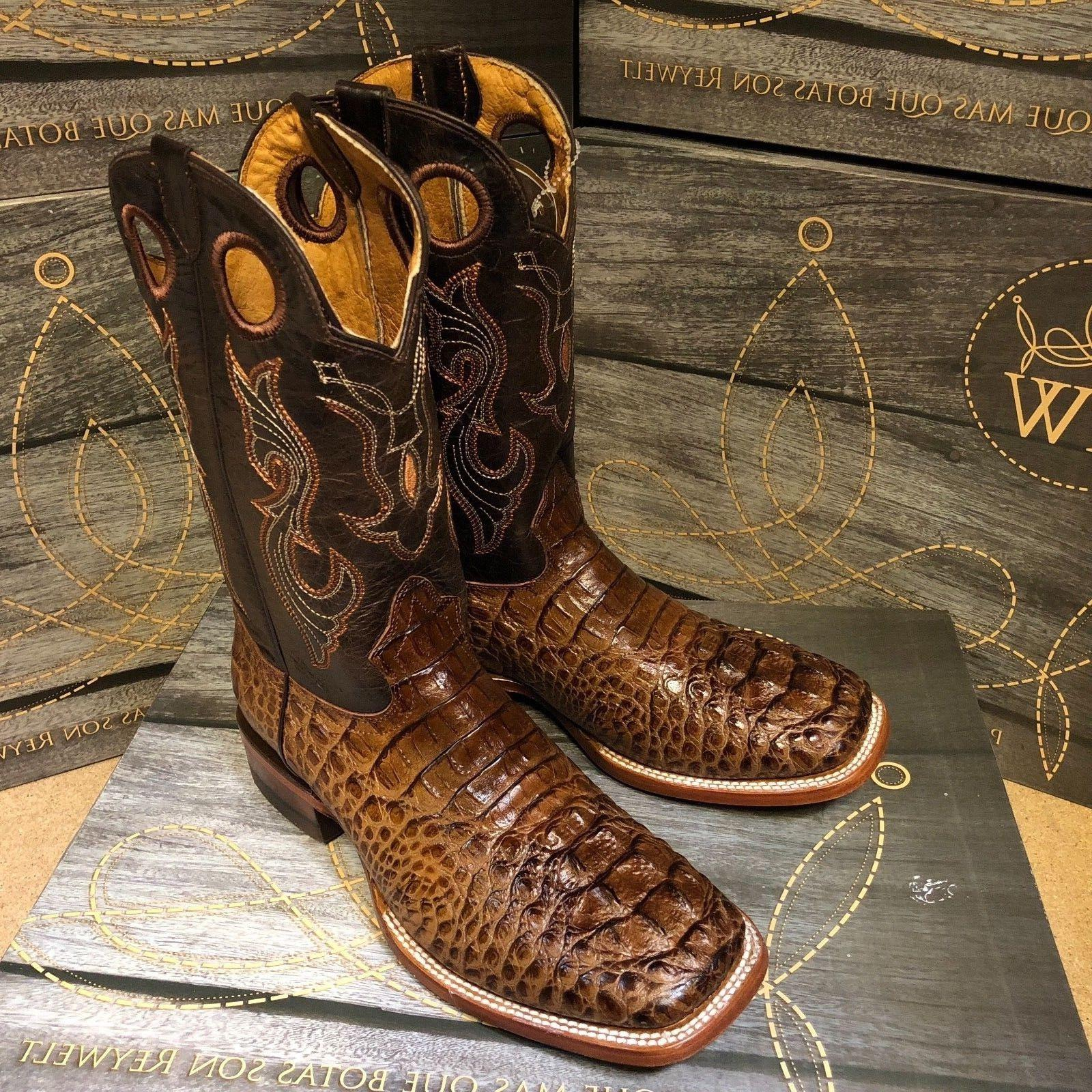 MEN'S RODEO ALLIGATOR PRINT TOE