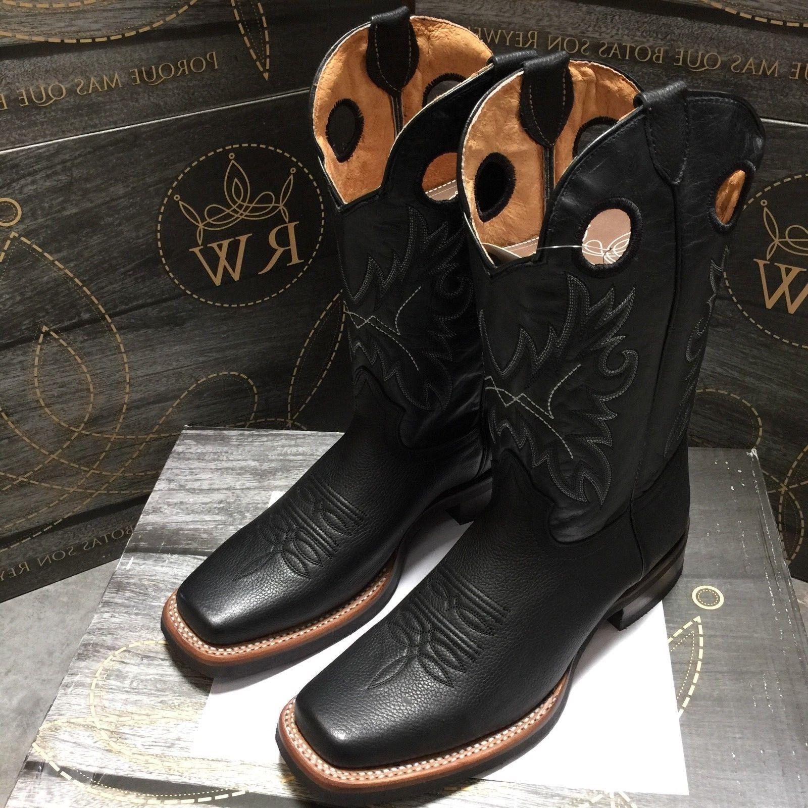 MEN'S GENUINE SQUARE BOOTS