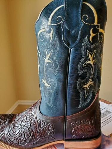 men s rodeo cowboy boots western square