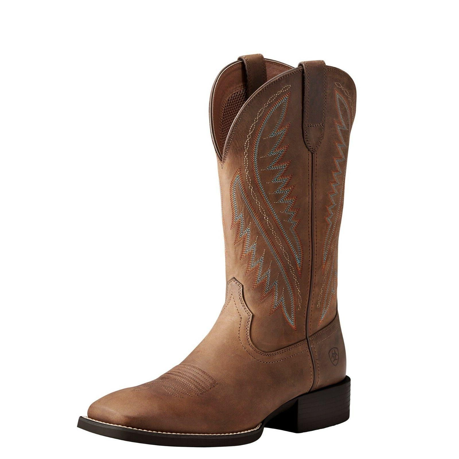 Ariat® Men's Sport Stonewall Distressed Brown Western Boots