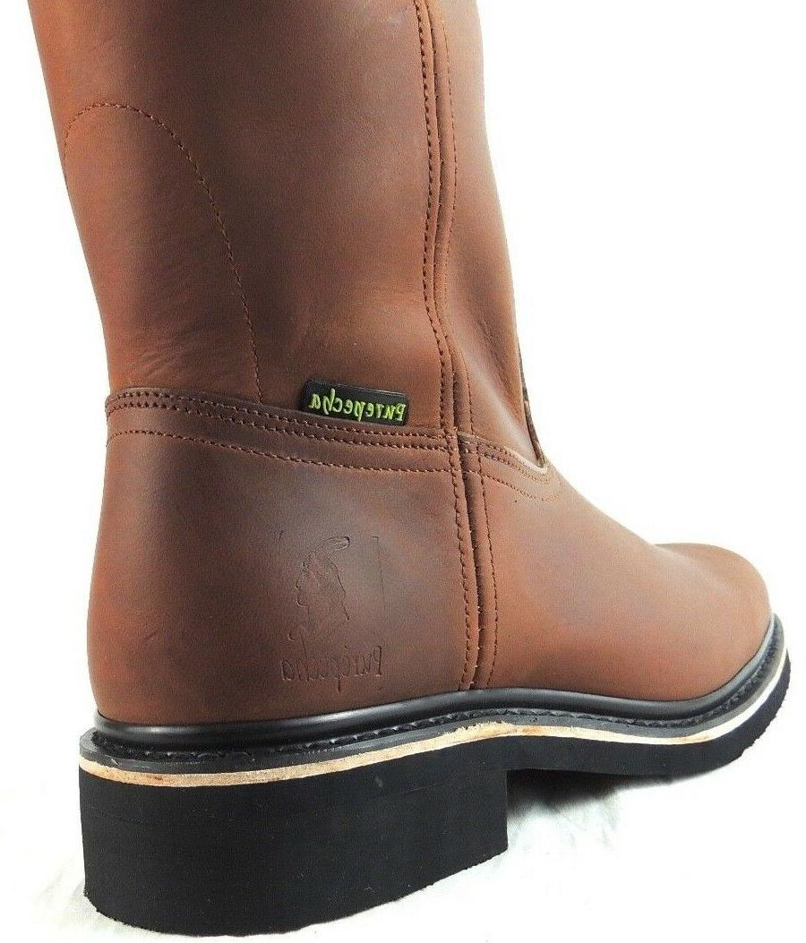 LEATHER BROWN COLOR WESTERN BOTAS ON