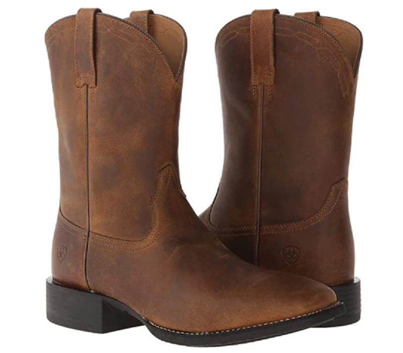 Ariat Western Powder Brown