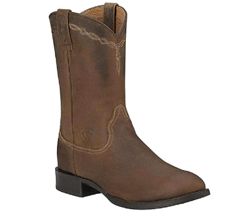 mens heritage roper western cowboy boot powder
