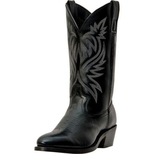 mens london distressed western cowboy boots imported