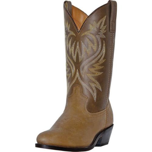 Laredo Mens London Distressed Western Cowboy Boots Leather F