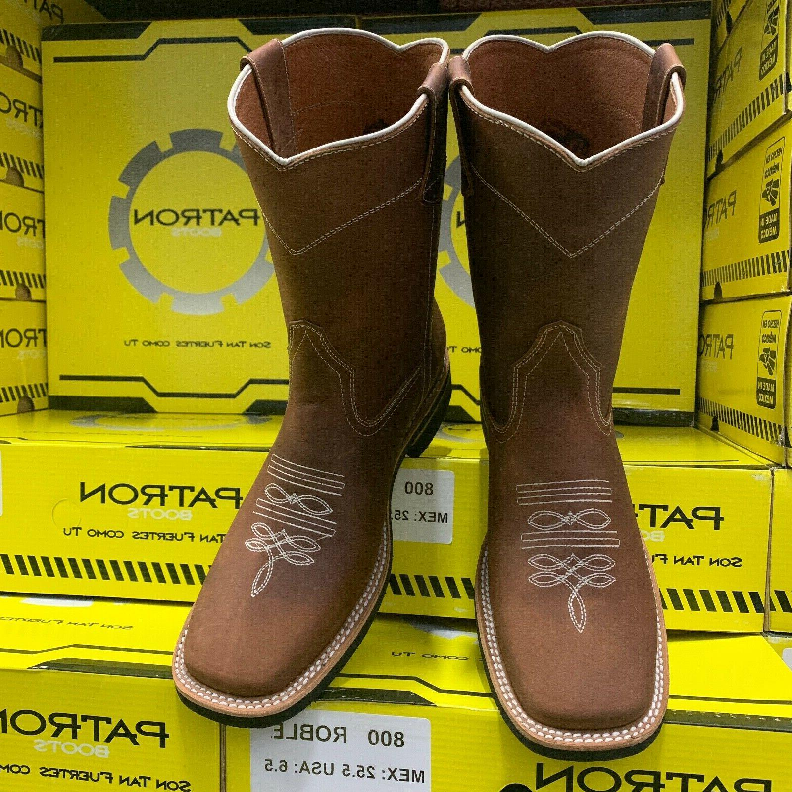 mens rodeo cowboy boots tan leather western