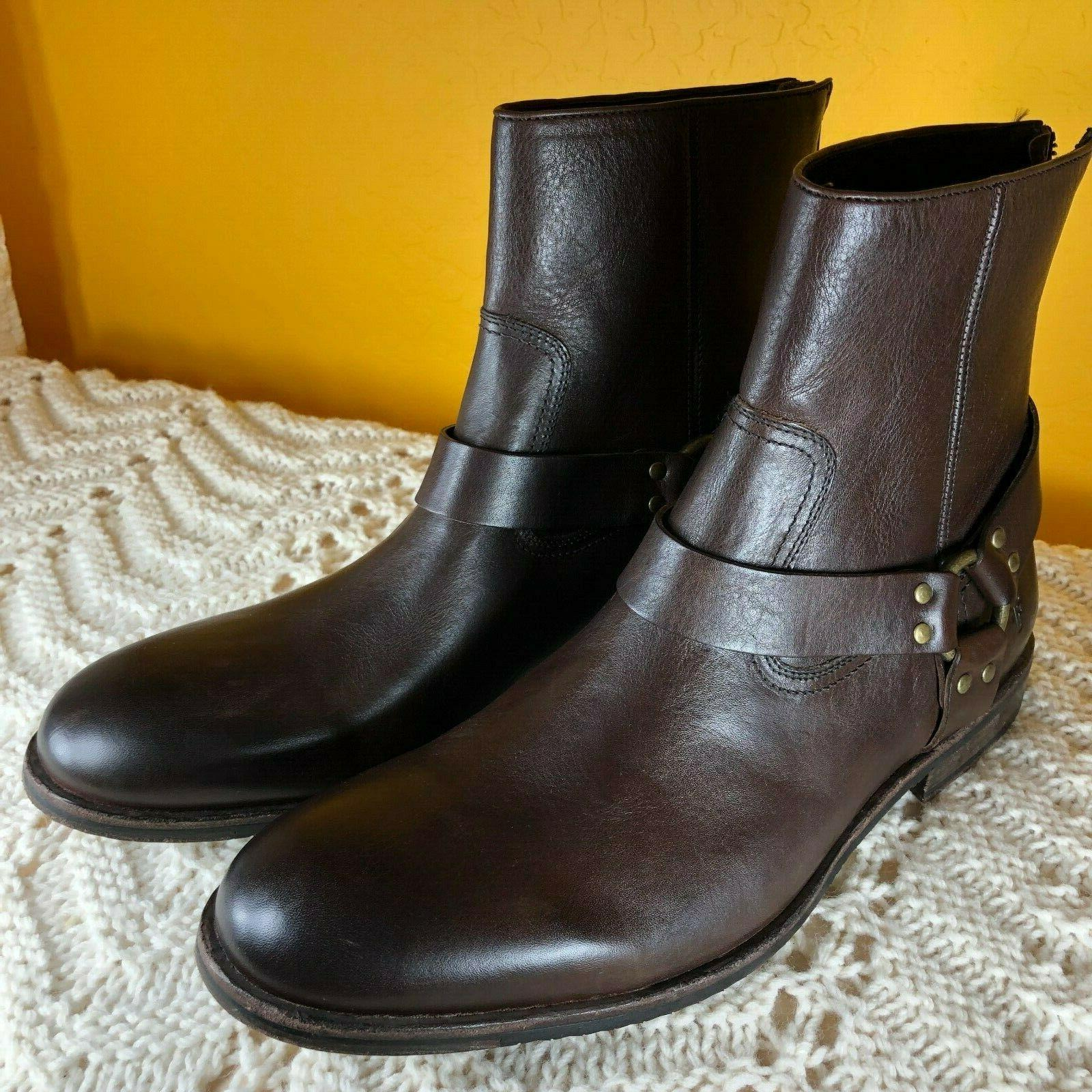 mens sam harness ankle boots sz 13
