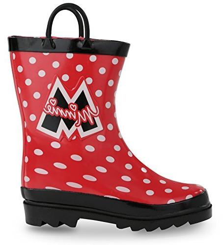 Disney Minnie Red Rain Boots