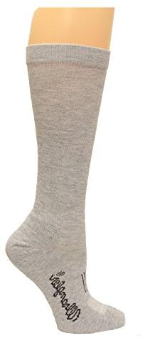 Wrangler Men's Moisture Wicking Western Boot Socks, White