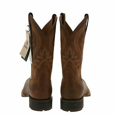 NEW ARIAT Brown Toe - 12