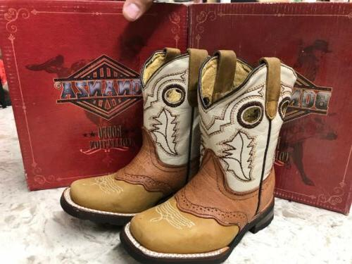 new kids western cowboy boots size 8