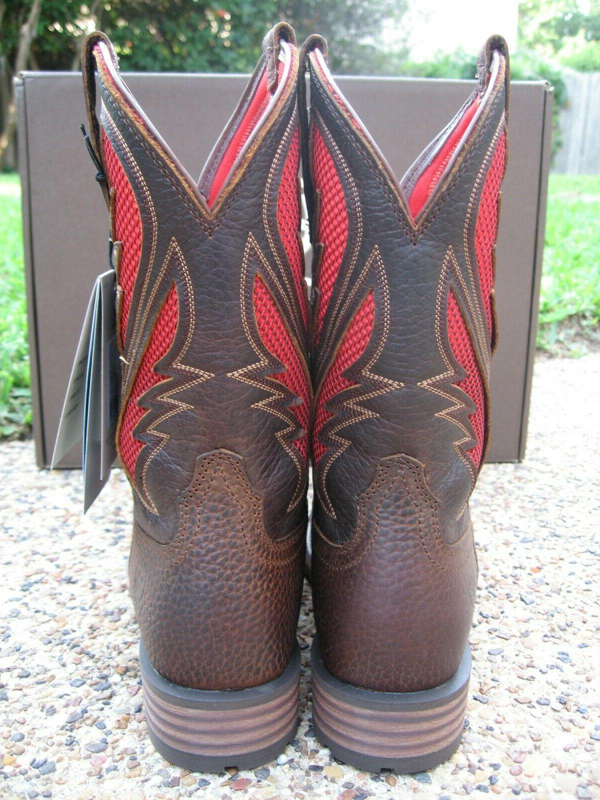 NEW Brown Leather Western Work 10031455