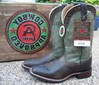 new mens trent brown green leather square