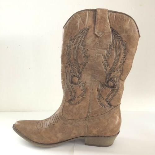 New by Matisse Women's Cow Boy Cow Girl 8.5