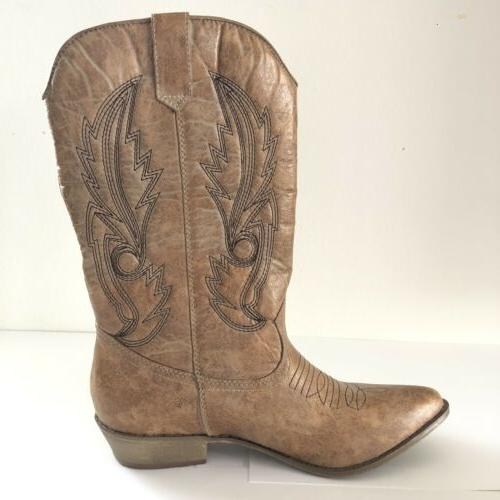 New Women's Cow Boots Size 8.5