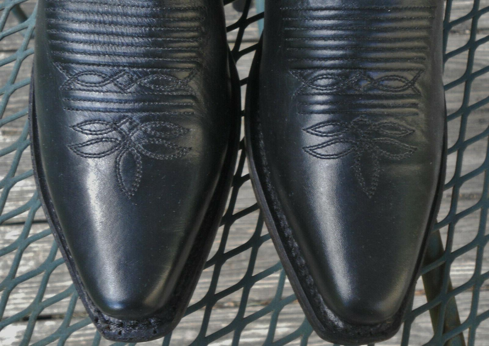 NWT! WEST LEATHER Toe Womens 8