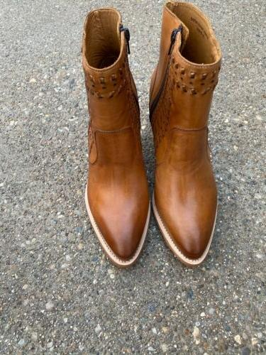 Lucchese Ankle Golden 9