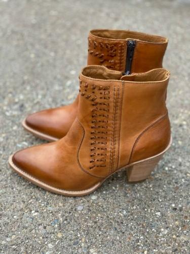 Lucchese Boots Ankle Tan