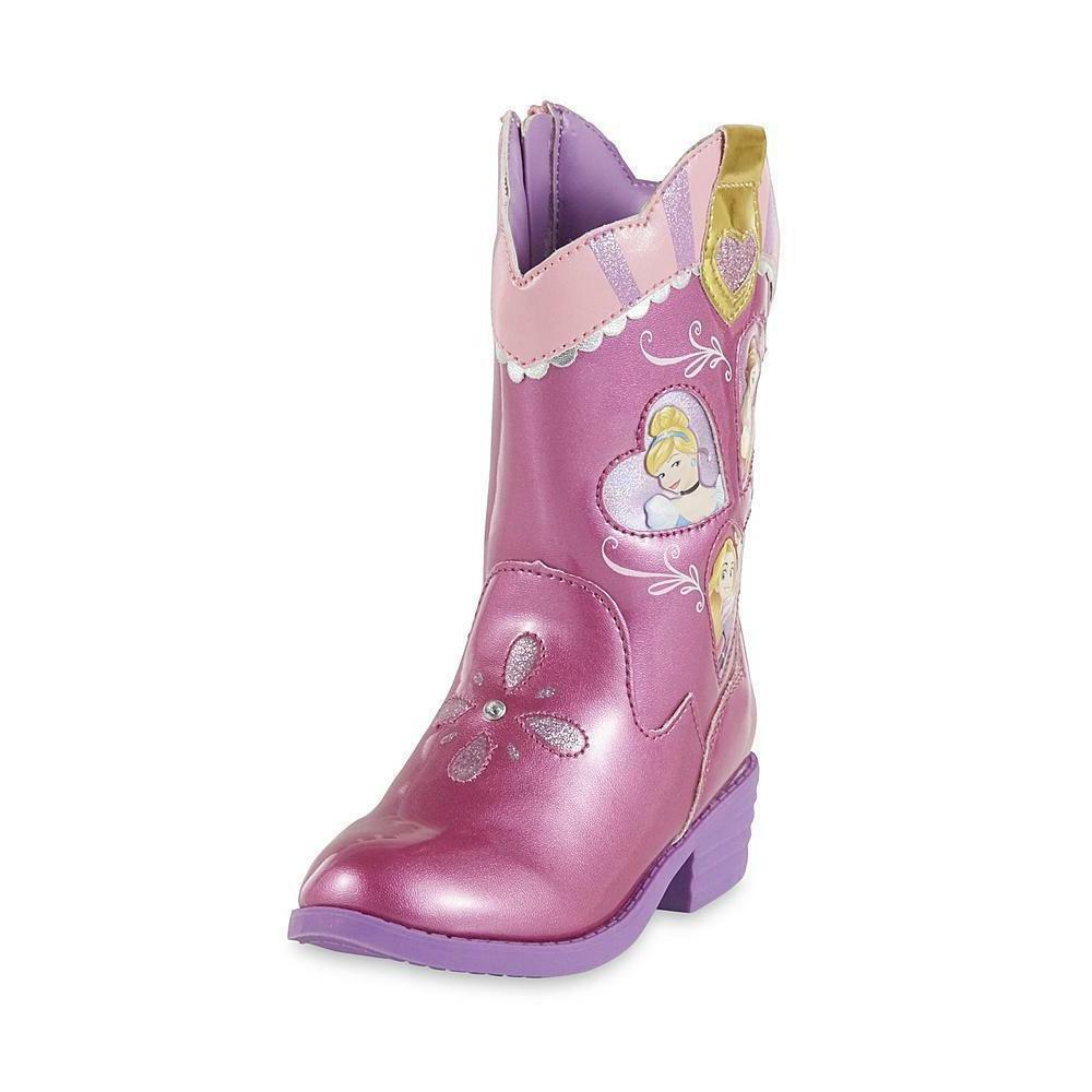 Disney Princess Rapunzel Cinderalla Belle Pink Toddler Girls