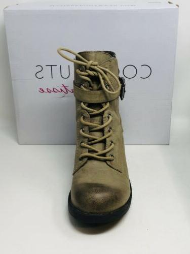 Coconuts Matisse Tarnished Look Boots Brown M In Box