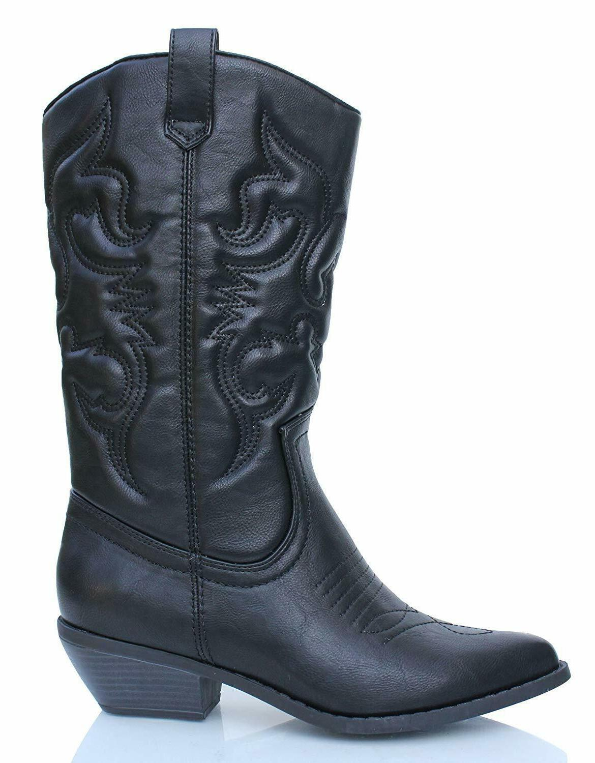 reno womens black synthetic material pull on