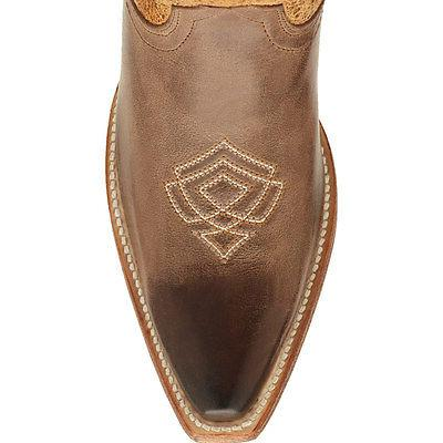 ARIAT Brown Smoke Leather Cowgirl