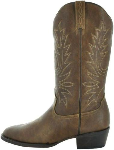 Country Love Toe Cowboy Country Boots Size