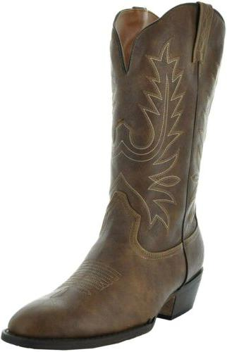 round toe womens cowboy country boots w101