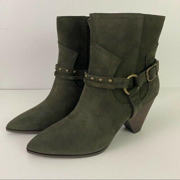 Lucky Green Ankle Boots