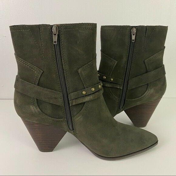 Lucky Brand Green Boots Western