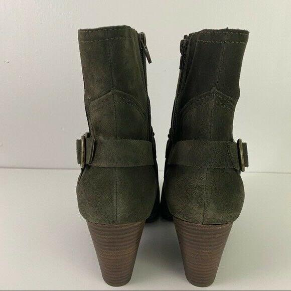 Lucky Brand Size Green Boots Western