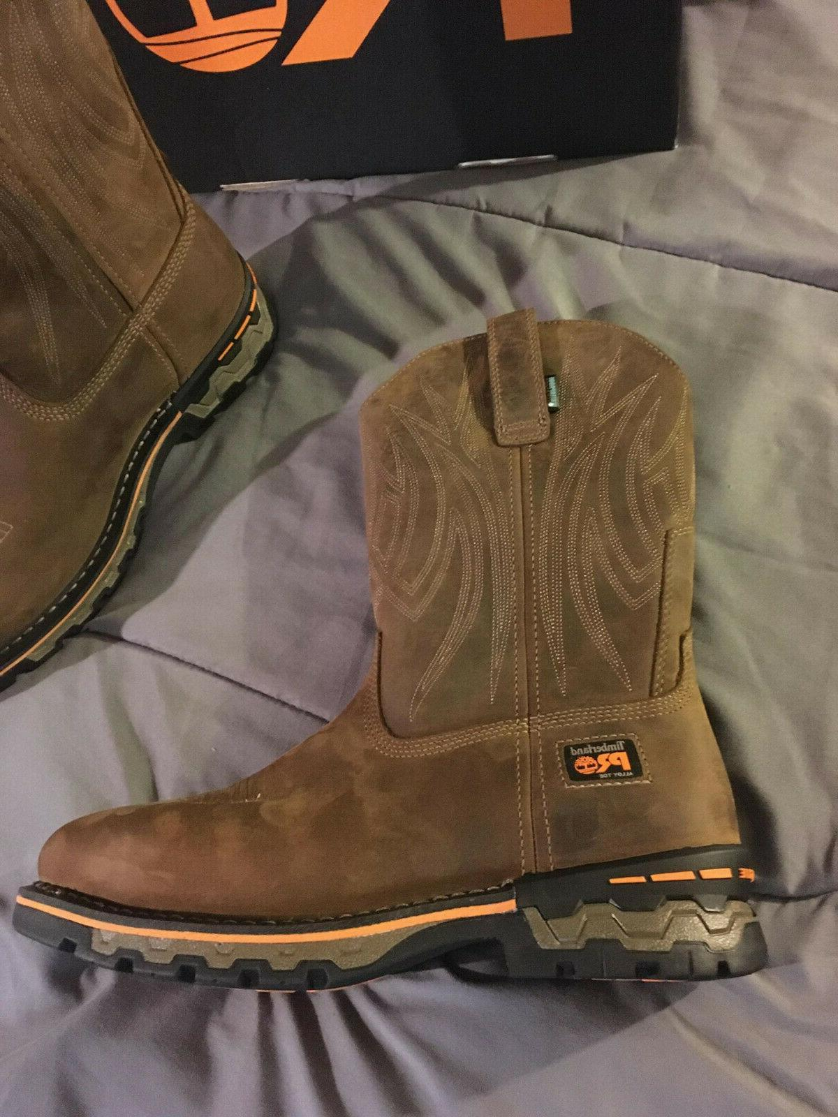 Timberland PRO 9 TB01001A214 AG Toe NEW!