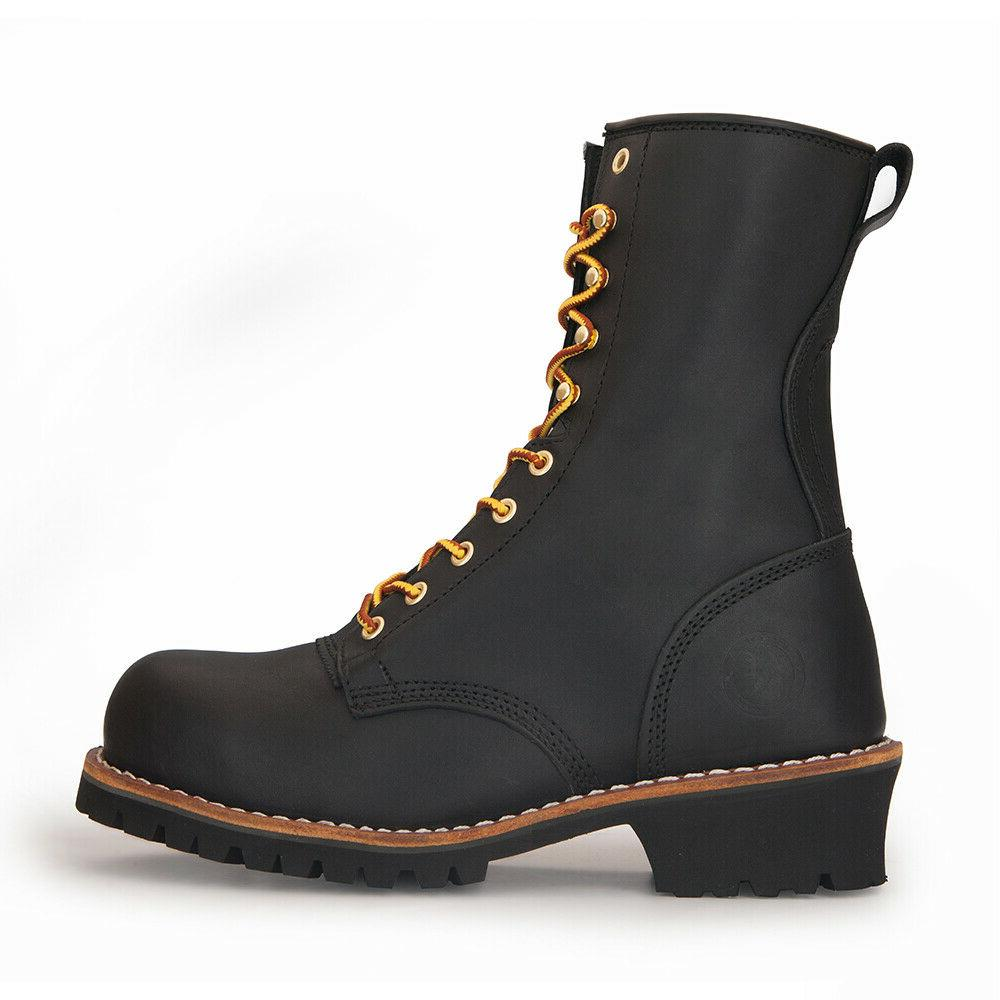 ROCKROOSTER Boots Work Good Year 9''