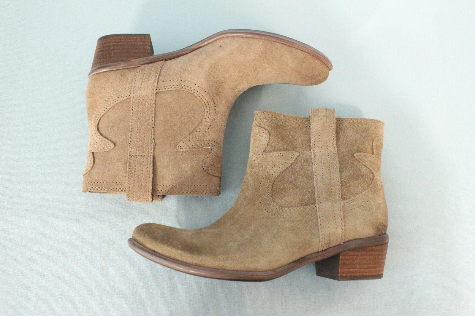 Lucky Ankle Boots Tan Size 7.5M NEW