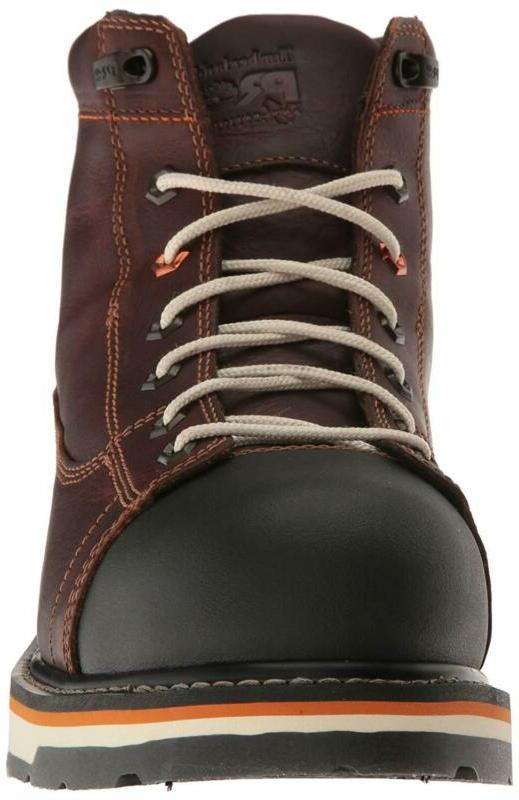 """Timberland 6"""" Alloy Eh Industrial Construction Shoe"""